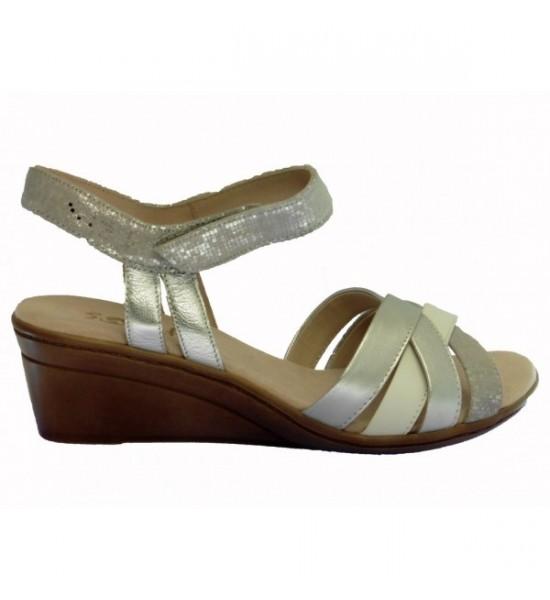 Sandale compensée zedou
