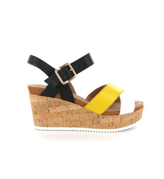 sandale compensée lafac