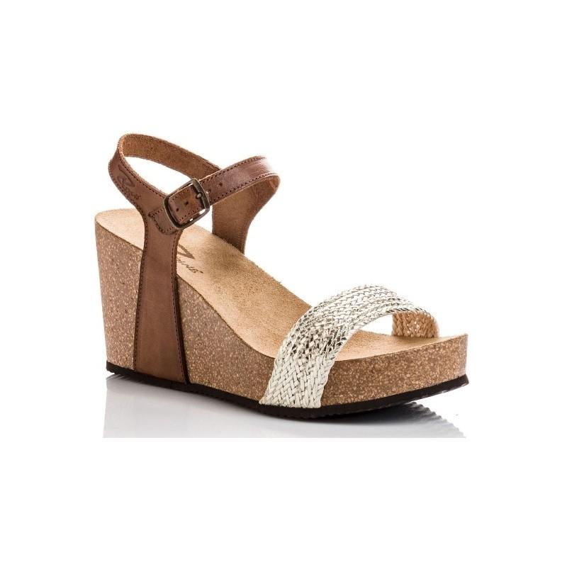 Metal Reqin's Sandale Compensée Compensée Qarmen Sandale Sandale Metal Reqin's Reqin's Qarmen OuXPkZiT
