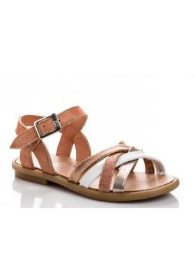 Sandale Thelma Mix  Peau