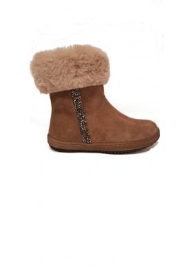 Boots Fanette peau
