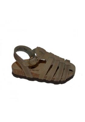 sandale salto nubuck