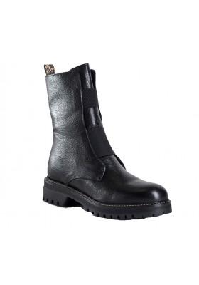Boots dusky cuir